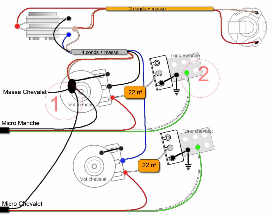 gibson melody maker wiring diagram electrical schematic