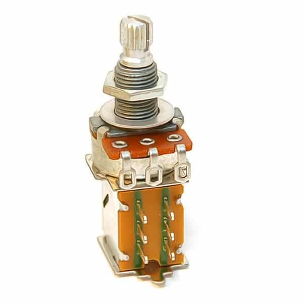 Les Potentiomètres Push Pull guitare