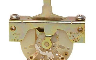 Câblage sélecteur guitare CRL USA