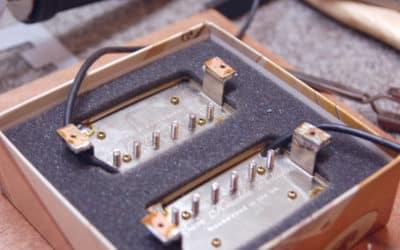 Réparation fixation humbucker