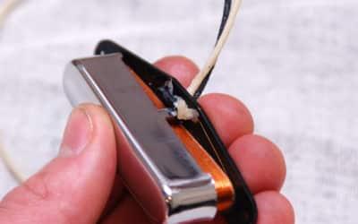 Montage capot micro Telecaster