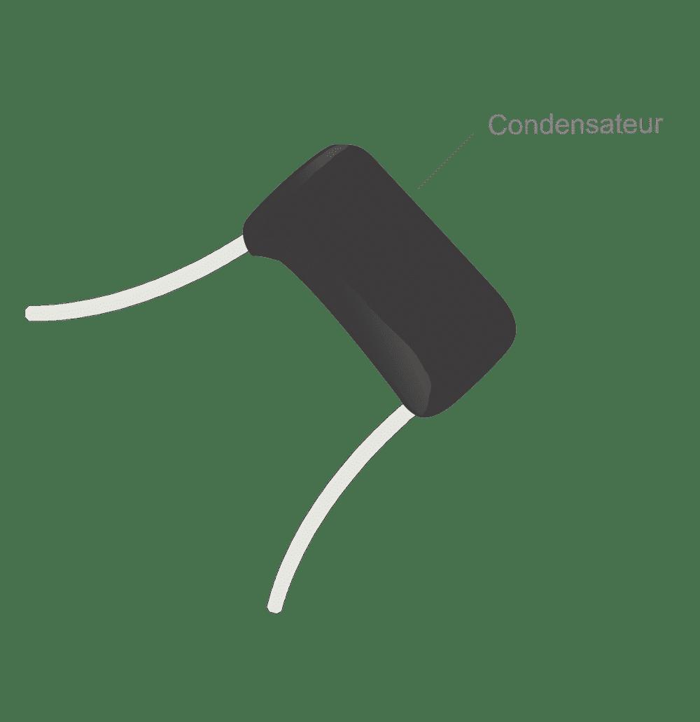 Treble bleed condensateur pour guitare