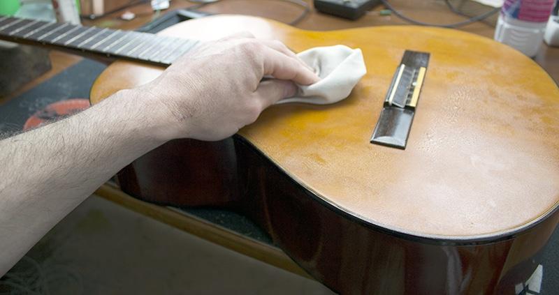 passage polish guitare classique