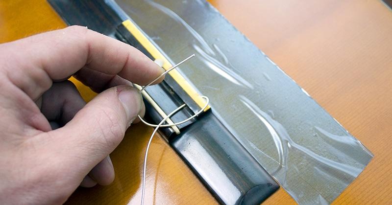 suite de la boucle corde filée guitare acoustique