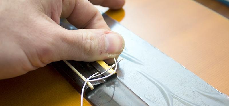 boucle sur corde filée classique guitare